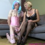 Clips4Sale – Bratprincess presents Brianna in Mother Encourages Sissified Son To Appreciate Stockings With Over Knee Spanking