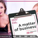 Virtualrealporn presents Amirah Adara & Ryan Ryder in A matter of business – 06.11.2017