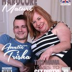 Mature.nl presents Auntie Trisha (EU) (62) in British chubby mature slut Auntie Trisha doing her toyboy – 22.12.2017