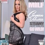 Mature.nl presents Carmen Valentina (30) in American MILF Carmen Valentina fingering herself – 05.12.2017