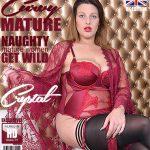 Mature.nl presents Crystal (EU) (30) in Curvy British mom Crystal fooling around – 01.12.2017
