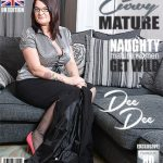 Mature.nl presents DeeDee (EU) (39) in Curvy British housewife Dee Dee playing with her toys – 05.12.2017