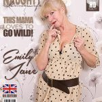 Mature.nl presents Emily Jane (EU) (62) in British housewife playing Emily Jane with her toy – 09.12.2017