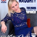 Mature.nl presents Kate Aveiro (EU) (39) in British housewife fingering herself – 12.12.2017