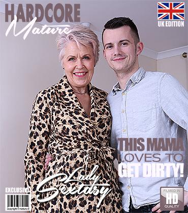 813b06ec2b3 Mature.nl presents Lady Sextasy (EU) (64) in British mature slut ...