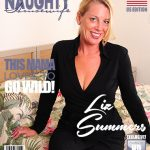 Mature.nl presents Liz Summers (52) in American housewife Liz fingering herself – 15.12.2017