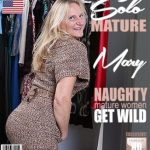 Mature.nl presents Mary K. (50) in American mature lady Mary playing with herself – 19.12.2017