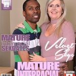 Mature.nl presents Velvet Skye (56) in Canadian housewife Velvet Skye goes interracial – 28.12.2017