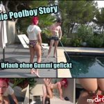MyDirtyHobby presents MarryFucks – Die Poolboy Story – Im Urlaub ohne Gummi gefickt – The Poolboy Story. Fucked on vacation without gum