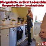 Mydirtyhobby presents Daynia – XXL Morgenlatte zerfickt Lederschlampe – Morgenpiss-Finale