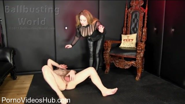 Watch Online Porn – Ballbusting World presents Busting Makes Me Feel Good! (MP4, SD, 1024×576)