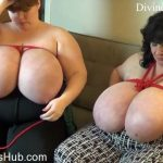 Clips4Sale presents Suzie Q aka Suzie 44K in Suzie And Lexxxi Bound Big Tits