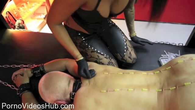 Watch Online Porn – Danish Femdom presents Needle Corsage (MP4, SD, 960×540)