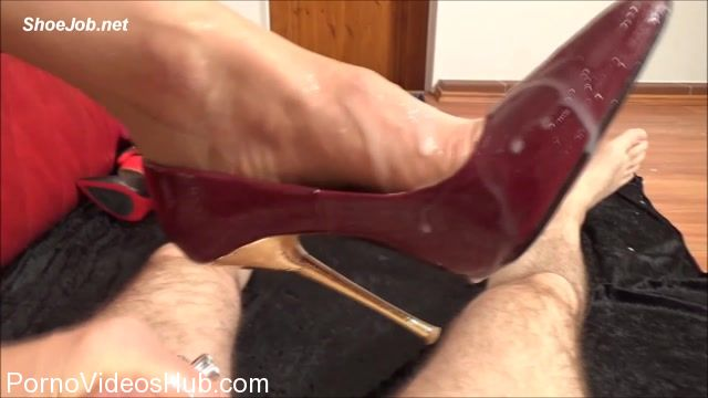 Watch Online Porn – Fetish Lady Imperatriza presents Sperm Splattered 5,5 Inch High-Heeled Court Shoes (MP4, FullHD, 1920×1080)