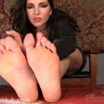 Goddess Alexandra Snow in A Little Foot Treat