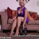 Goddess Foot Domination presents Goddess Brianna in Advanced Jerk Off Training