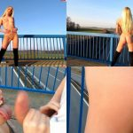 MyDirtyHobby Webcams Video presents Girl Lucy-Cat in Hupkonzert ON THE HIGHWAY! THE BRUCKENFICK!