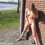 ManyVids presents siswet19 in OUTDOOR FACIAL and pussyplay