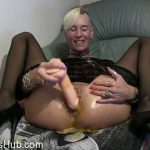 MyDirtyHobby presents lady-isabell666 in Inserting and egg and self fisting her holes
