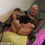 MyDirtyHobby presents lady-isabell666 in Self fisting pussy and ass