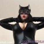 Queenbitchlarkin presents Larkin Love in Batman Butt Fuck