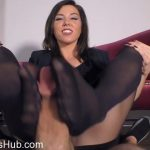 The Wolfe Sole Experience presents Pantyhose Footjob For The Job and Your Salary