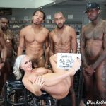 DogFartNetwork – BlacksOnCougars presents Alena Croft MILF Gangbang – 09.12.2017