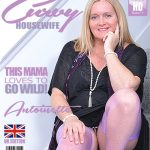 Mature.nl presents Antoinette (EU) (63) in British curvy housewife Antoinette fingering herself – 29.01.2018