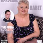 Mature.nl presents Babet (57) in big beautiful older lady doing her toyboy – 25.01.2018