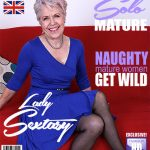 Mature.nl presents Lady Sextasy (EU) (64) in British mature Lady Sextasy fingering herself – 23.01.2018
