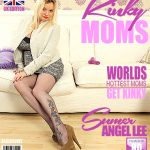 Mature.nl presents Summer Angel Lee (EU) (40) in British mom playing with herself – 04.01.2018