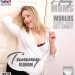 Mature.nl presents Tammy Oldham (EU) (37) in British hairy mom Tammy Oldham playing with herself – 29.01.2018