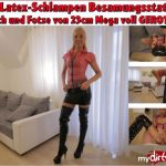 MyDirtyHobby presents Daynia – Die Latex-Schlampen Besamungsstation – Arsch und Fotze Mega voll gerotzt – The latex sluts insemination station! Ass and pussy mega fully robbed!