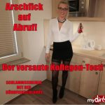 Mydirtyhobby presents Daynia – Arschfick auf Abruf – Der versaute Kollegen Test – Assfuck on call! The nasty colleagues test! – 01.01.2018