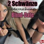 Mydirtyhobby presents JuliettaSanchez – 2 Schwanze Uberraschungs-Blind-Date