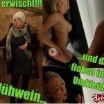 Mydirtyhobby presents LilliVanilli – Fast erwischt – Gluhwein und dann ficken in der Umkleide – Almost caught! Mulled wine and then fuck in the locker room!