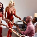 Brazzers – BrazzersExxtra presents Madison Ivy & Monique Alexander & Nicolette Shea in 1 800 Phone Sex: Line 8 – 28.01.2018