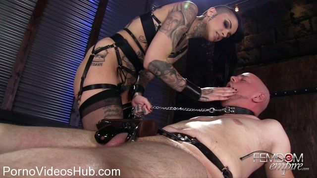 Watch Online Porn – Femdomempire presents Leigh Raven in Chastity Sex Training (MP4, FullHD, 1920×1080)