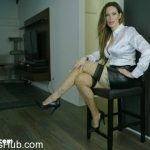 Goddess Harley in Leggy Job Applicant