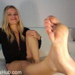 Goddess Rainn in Once a Foot Freak, Always a Foot Freak