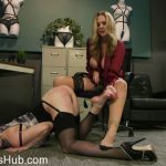 KinkFeatures presents HUSH Ep 7: Julia Ann Takes Down Cherry Torn With Corrective Discipline – 26.01.2018