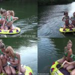 ManyVids Webcams Video presents Girl JennyJinx in Tubing with Jenny Blighe