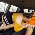 FakeDrivingSchool presents Estella Bathory in Cute BBW crashes the car for REAL – 22.01.2018