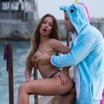 PornDoePremium – ChicasLoca presents Taylor Sands in Gorgeous Dutch chick enjoys wild sex outdoors on sea dock! – 08.01.2018