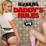 Wankzvr presents Anastasia Knight, Summer Brooks in Breaking Daddys Rules – 09.01.2018