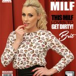 Mature.nl presents Brit (37) in hot MILF Brit doing her toyboy – 25.02.2018