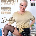 Mature.nl presents Debbie (EU) (53) in British housewife Debbie playing with her toy – 01.02.2018