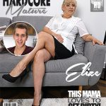 Mature.nl presents Elize K. (56) in horny housewife Elize doing her toyboy – 10.02.2018