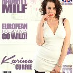 Mature.nl presents Karina Currie (EU) (38) in British MILF Karina Currie fingering herself – 16.02.2018