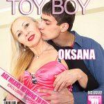 Mature.nl presents Oksana (EU) (50) in Horny MILF Oksana doing her toyboy – 22.02.2018